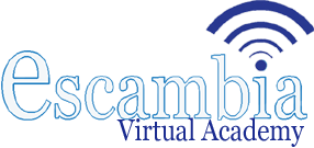 Escambia Virtual Academy  Logo